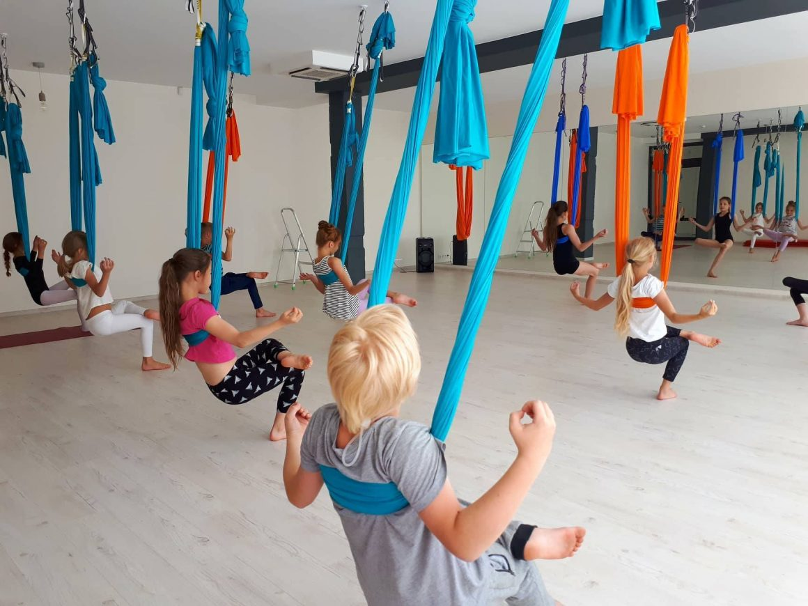 Joga ore treniruotės vaikams